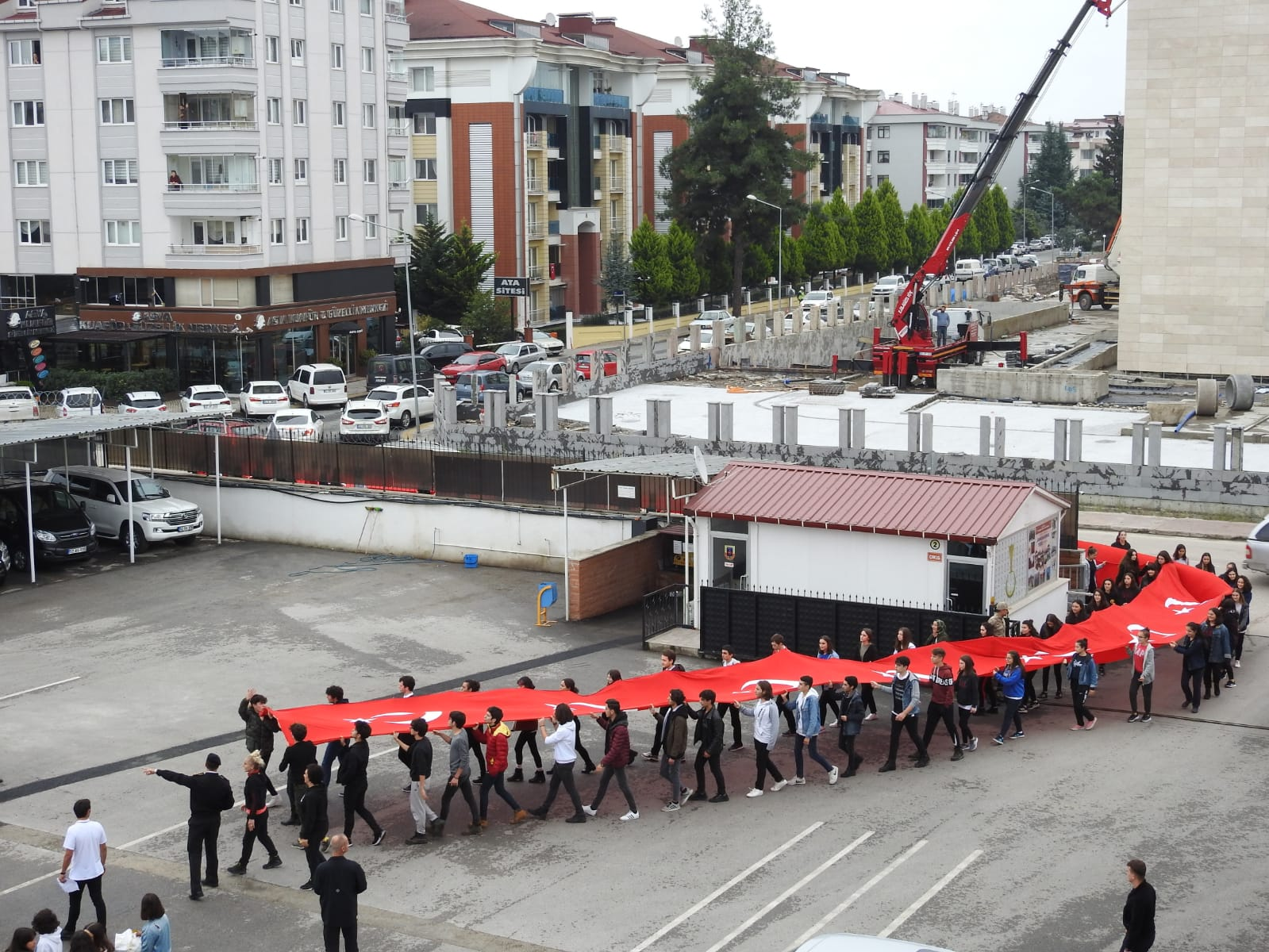 Ordu Anadolu Lisesi Öğrencilerinden Mehmetçiğe Destek