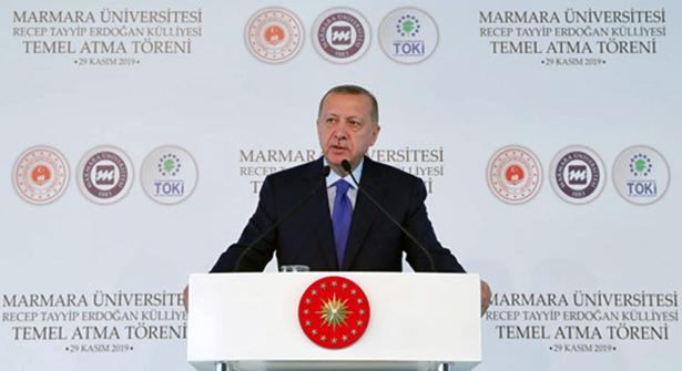 """ERDOĞAN: """"ÖNCE SEN KENDİ BEYİN ÖLÜMÜNÜ KONTROL ETTİR"""""""