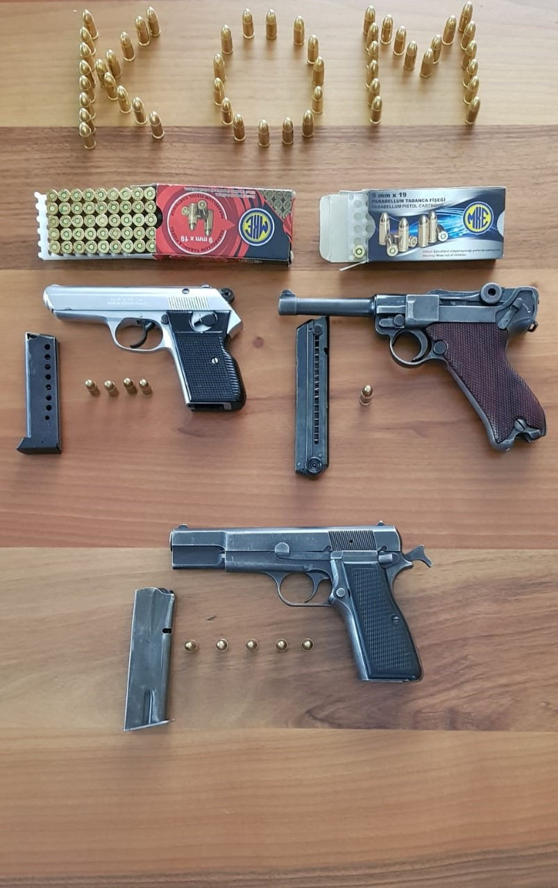 İl Emniyet Müdürlüğüne bağlı Kaçakçılık ve Organize Suçlarla Mücadele Şube Müdürlüğü tarafından yapılan çalışmalar