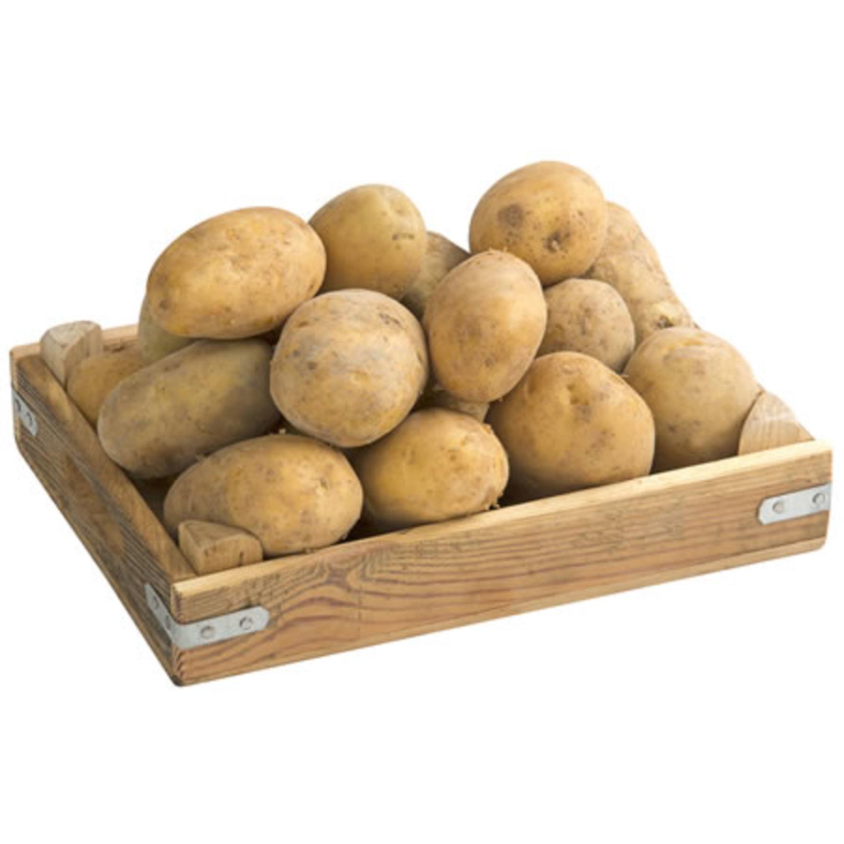Patates tarlada kaldı…