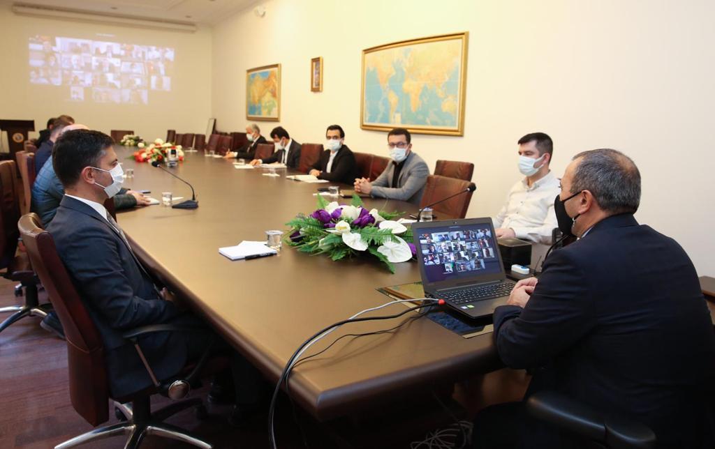 Covid-19 Pandemisi Değerlendirme Toplantısı, Vali Sonel'in Başkanlığında Yapıldı