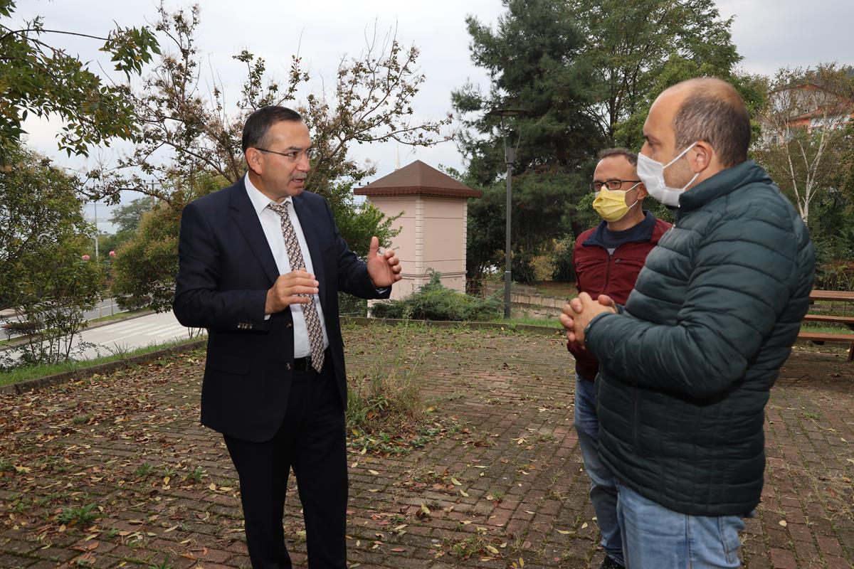 Rektör Akdoğan, Turizm Fakültesinde İncelemelerde Bulundu