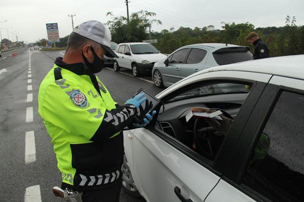 Trafik kazalarını azaltmaya yönelik denetimlerde;
