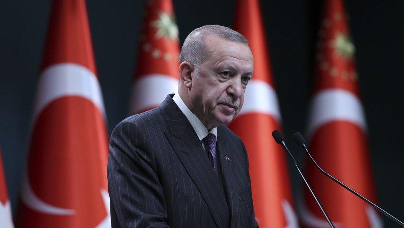 Cumhurbaşkanı Erdoğan'dan bir dizi müjdeli haber!