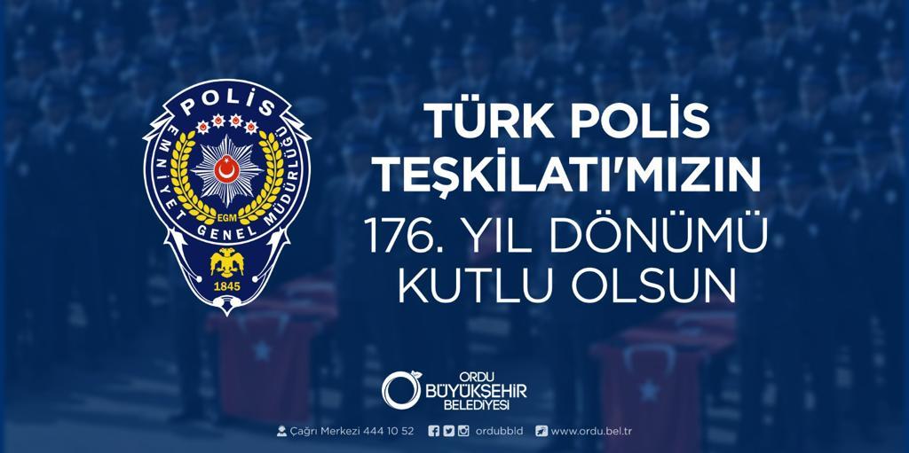 """BAŞKAN GÜLER: """"HUZUR VE GÜVENİN ADI TÜRK POLİSİ"""""""