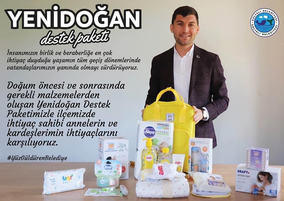 Gülyalı Belediye Başkanı Ulaş Tepe sosyal medya hesabından paylaştı.
