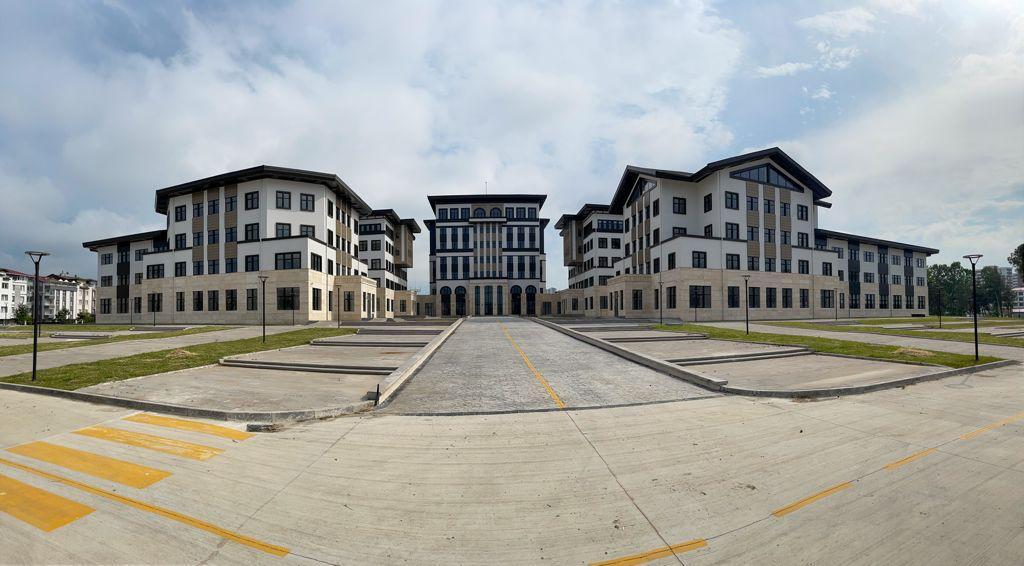 Vali Sonel, Yeni Valilik Binası İnşaatında İncelemelerde Bulundu