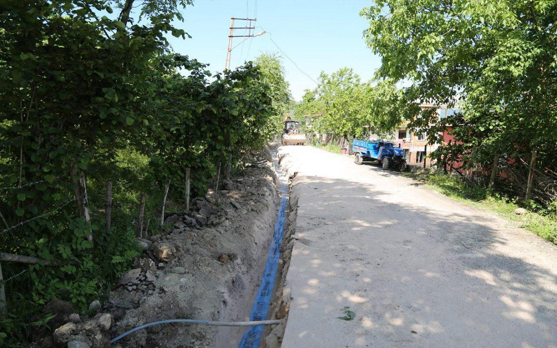 Su kesintisinin sıklıkla yaşandığı mahalleye OSKİ neşteri vurdu